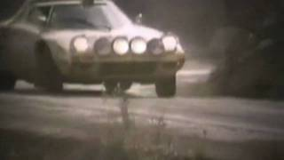 Lancia Stratos Rally Car \