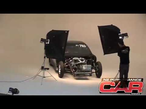 8-second Mazda RX-7 - studio shoot