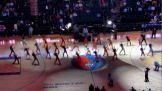 70s Halftime - Bobcats vs Pacers 2-22-12