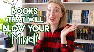BOOKS THAT WILL BLOW YOUR MIND! (Mindblowing Books Recs!)