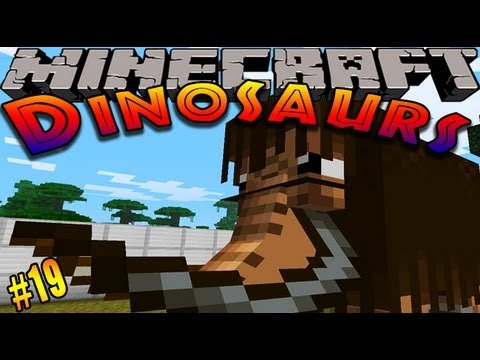 Minecraft Dinosaurs - ( Dinosaur mod ) - Episode 19 - ALL NEW DINOSAURS!!