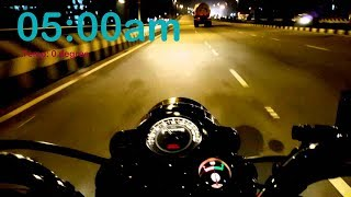 Driving ROYAL ENFIELD in ZERO degree|dense FOG |Saharanpur Vlog