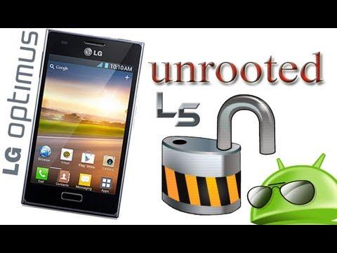 Como quitar el root (UnRoot) a Lg Optimus L5