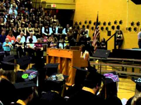 singer @ South Vermillion High School Graduation 2011.MPG