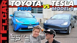 The Answer Is Surprising! EV vs Hybrid: What's The Most Fuel Efficient AWD Car? - Thrifty 3 Ep.8