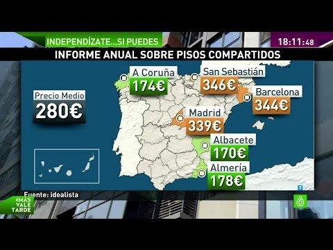 San Sebastián, Barcelona y Madrid, las ciudades más caras para compartir piso