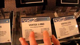 OCZ Suite @ CES 2011 Z-Drive R3 Revodrive X2 Vertex 3 Pro & More Linus Tech Tips