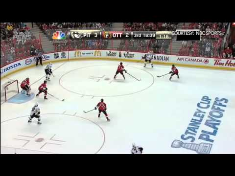 Pittsburgh Penguins @ Ottawa Senators Highlights 5/22/13 [Game 4]