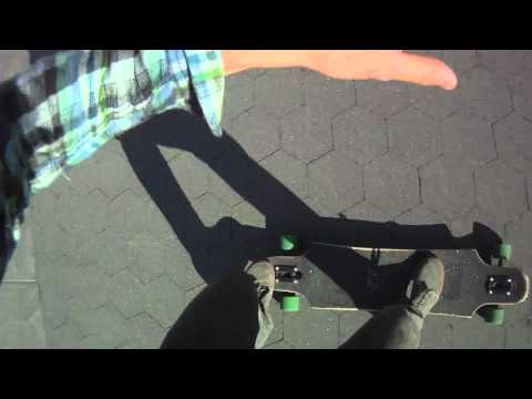 Bustin Longboards NYC Presents A Beautiful Line on a Beautiful Day