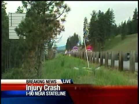 0 Stateline Crash Spans I 90, Centennial Trail