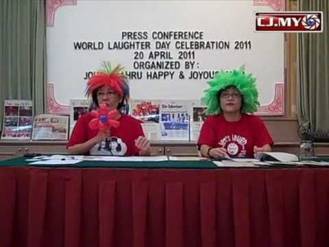 World Laughter Day 2011 Press Conference