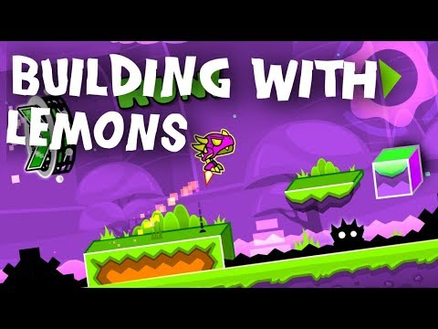 Geometrical Dimension ~  Building With Lemons - Geometry Dash 2.11
