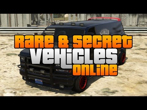 GTA 5 - Rare & Secret Vehicles Online Locations! Rare & Secret Cars Online!