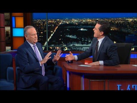 Stephen & Bill O'Reilly Respectfully Butt Heads