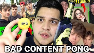 Poppin Off On Youtube Gimmicks (Bad Content Pong | Ep 2)