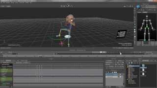 MotionBuilder 2014 Tutorial 08 - Movement Editing Based on Motion Capture Files