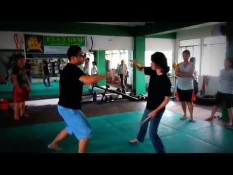 Kali Arnis Eskrima Basic Knife Fighting and Double Blade Training in Manila Image 1