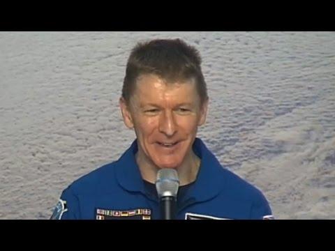 Tim Peake says next dream is 'lunar exploration'