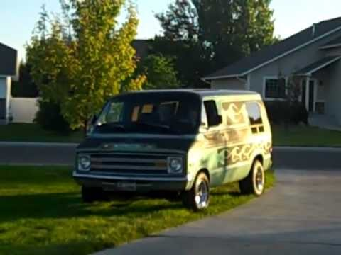 1974 Dodge Van The Flaming 8 Ball