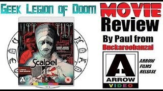 SCALPEL ( 1977 Robert Lansing ) aka FALSE FACE B-Movie Review 2018 Arrow video release