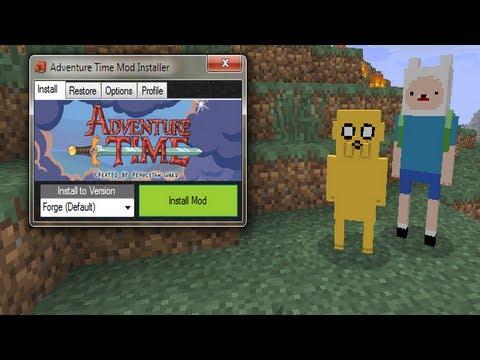 Türkçe Minecraft Mod Tanıtımları Bölüm 1 Adventure Time Mod