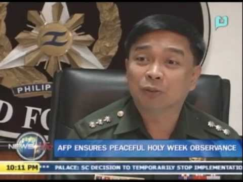 AFP ensures peaceful holy week observance