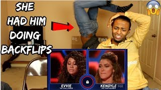 Evvie vs Kendyle: The Most UNEXPECTED Battle Of The Night! | S1E5 | The Four (REACTION)