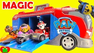 Paw Patrol Magical Mission Cruiser and Mission Pups