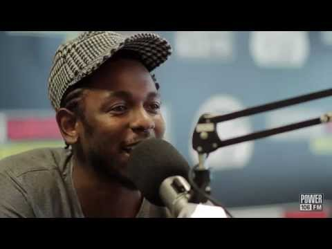 Kendrick Lamar Talks About His Latest Projects On Power 106