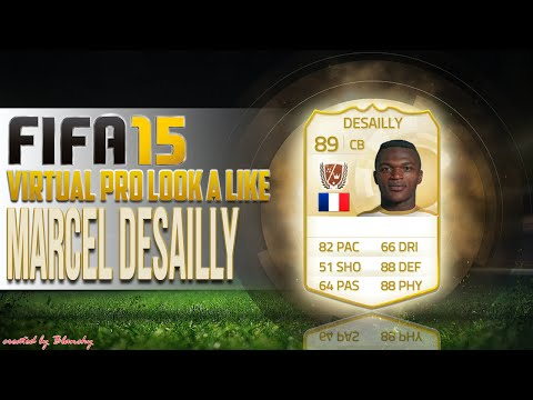 FIFA15 VIRTUAL PRO LOOK A LIKE | MARCEL DESAILLY