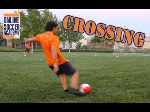 Soccer CROSSING Drill *Advanced* by Online Soccer Academy