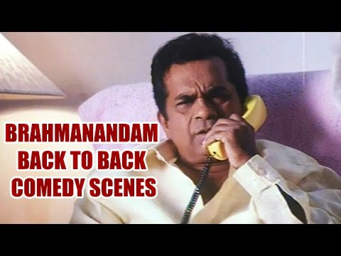 Brahmanandam Back To Back Comedy Scenes || Vol 2 video