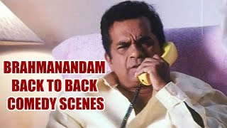 Brahmanandam Back To Back Comedy Scenes || Vol 2
