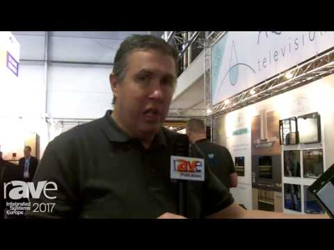 ISE 2017: Aquavision Showcases TV On HDBase T With Power Over Ethernet