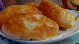 Самые вкусные жареные  пирожки с картошкой и грибами