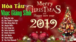 Hòa Tấu Nhạc Giáng Sinh Không Lời Hay Nhất 2019 - Tràn Ngập Không Khí Noel - Merry Christmas