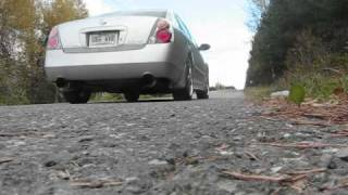 Nissan Altima 3.5 Exhaust
