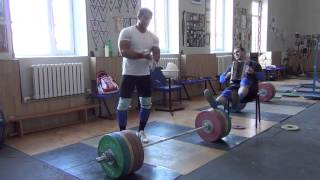 Klokov Dmitry clean 215 kg  3.07.2013