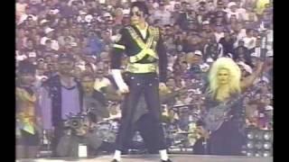 Michael Jackson - Jam, Billie Jean, Black or White Super Bowl  (Subtitulado español)