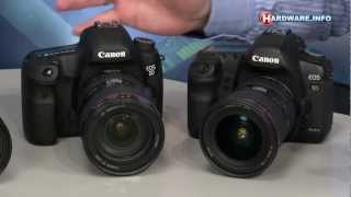Canon EOS 5D MKIII, Nikon D800 en D4 - Hardware.Info TV (Dutch)