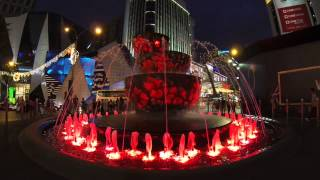 Colorful Fountain in KL (06.02.2014)