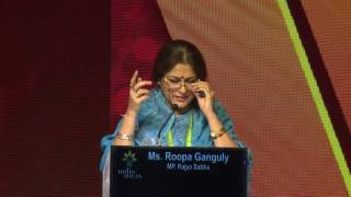 Rupa Ganguly at India Ideas Conclave 2016