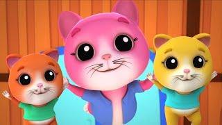Năm bé Mèo con | trẻ em bài hát | con mèo con bài hát | Five Little Kittens