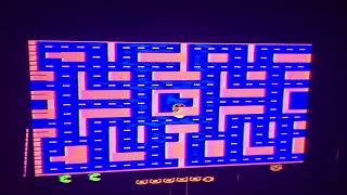 Weird Ms. Pac-Man Atari 2600 Glitch