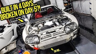 Fixing MAJOR Mistakes I Made During My Crazy 4-Day Toyota Supra Build (OOPS!)