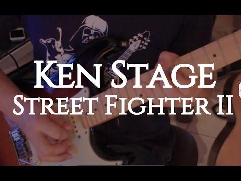 "Street Fighter II ""Ken Stage"" Fabio Lima (Full Band)"