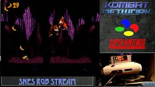 Retro Gaming Bytes - Shock Playthrough - kicking it old school playing Donkey Kong Country RGB SNES