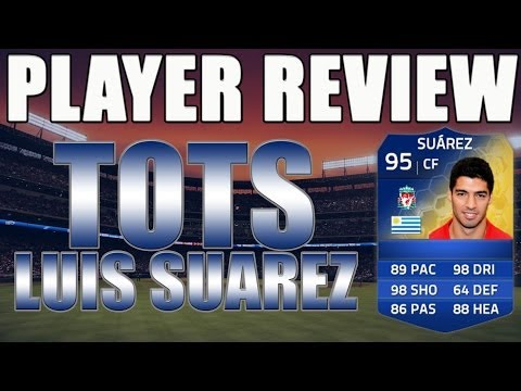 TOTS SUAREZ PLAYER REVIEW! - FIFA 14 Ultimate Team