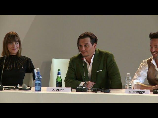 Depp brings Irish-American gangster to Venice film fest