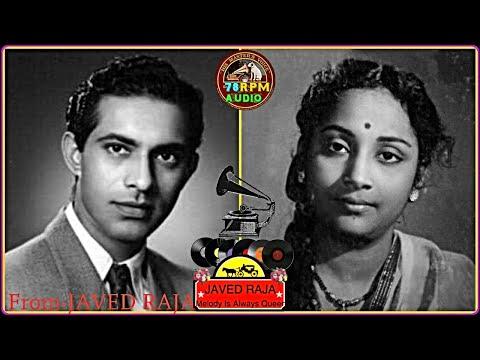 TALAT Mehmood & GEETA-Film-MAHA POOJA-(1954)-Wah Re Wah Bhagwan,Banaya KyaTune Insaan,Hazaar Haath-